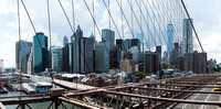 Downtown Manhattan from the Brooklyn Bridge