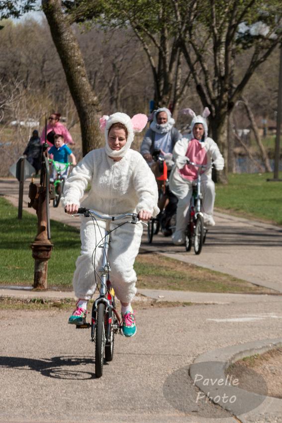 Easter Biker